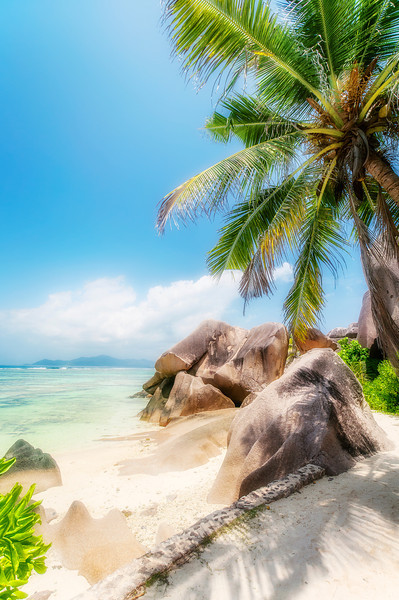 Sun ans Shade in La Digue