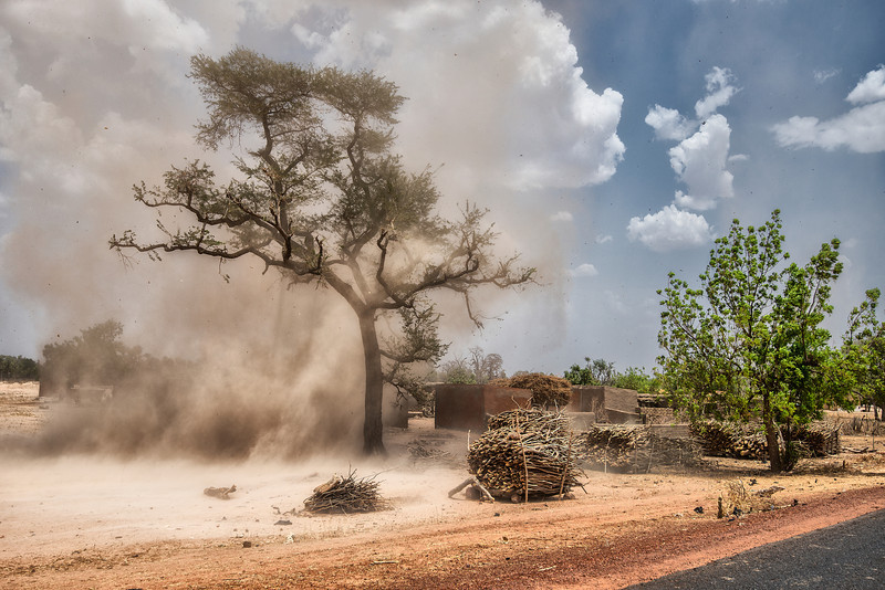Dust Devil in Mali.