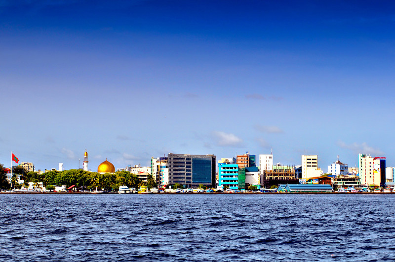 Malé capital of Maldives