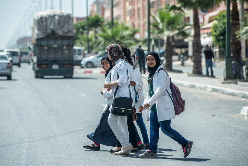 Happy Africa. Morocco. After School.