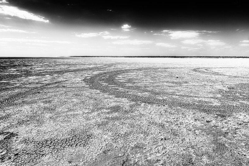 Dry country. Namibia.