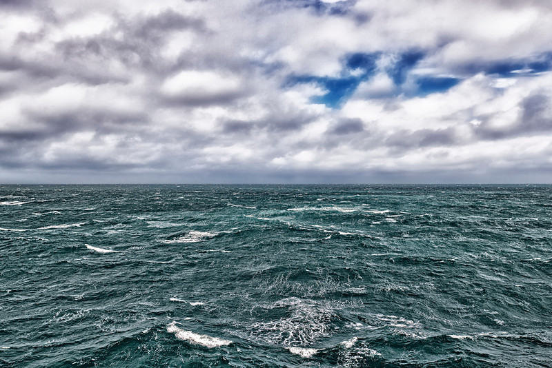 Somewhere in Tasman Sea