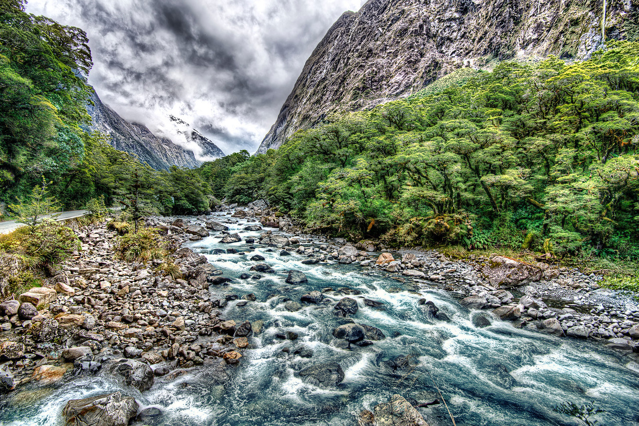 New Zealand fiords, Milford Sounds