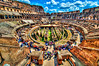 Thousands years of history. Rome Coliseum.