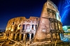Rome Coliseum at night