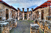 Pompei, lost antique city.