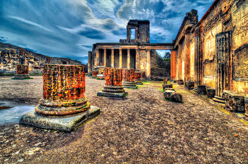 Lost city. Pompei.