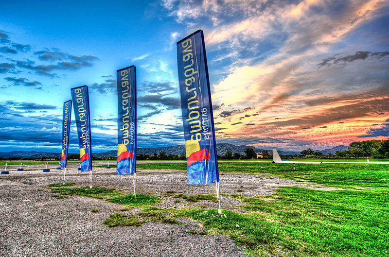 Skydiving Empuriabrava club.<br /> Waiting for another day.