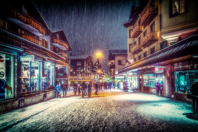 Night in Zermatt