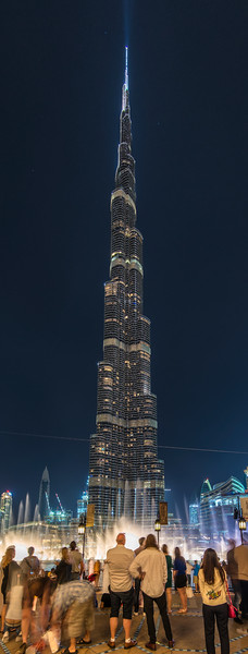 Only ONE building was enough to change everything. Burj Khalifa - 829.8 m (2,722 ft), twice as high as Empire State building, highest World building. Attract more tourist than Eiffel Tower or Giza Pyramid. Dubai will never be the same again, World will never be the same again.