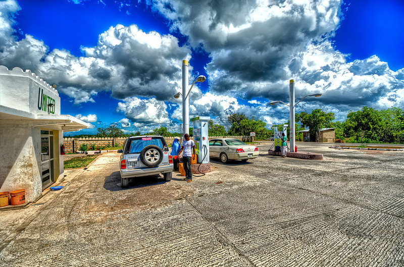 """It was a rule in Africa for drivers: """"if you reach gas station - get a gas, no matter how much gas you have"""".<br /> No need to fallow this rule in Zanzibar - Gas stations everywhere. Gas price about 1l - 1.8 USD (about 7 USD - 1 gallon). Cheap for Europe, expensive for US."""