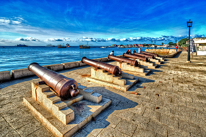 Cannons and fleets. For centuries.<br /> Stone Town. Zanzibar