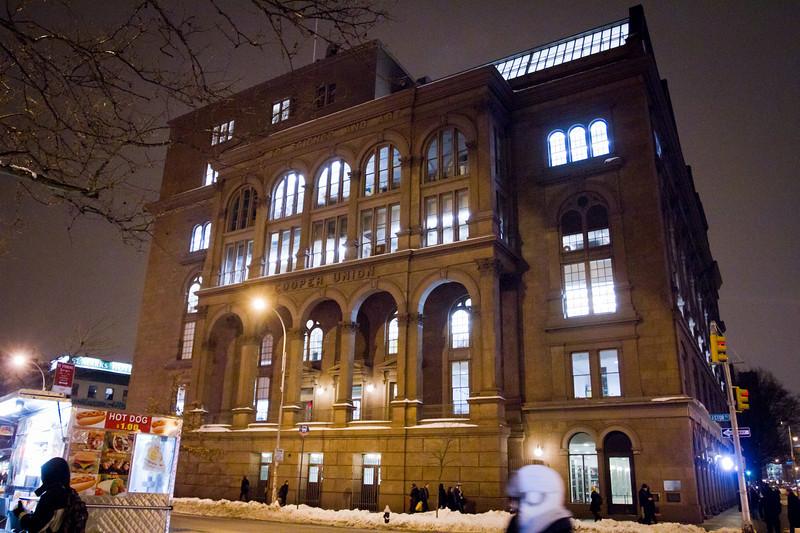 Cooper Union building