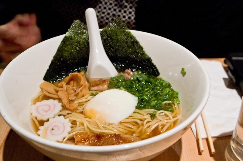 Momofuku Ramen: egg + pork belly + noodles + total yumminess