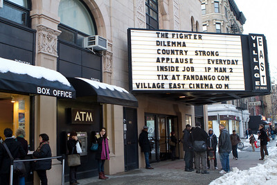 Village East City Cinemas: usually known for showing some indpendent films. Theater has its own character...smaller screens, etc.