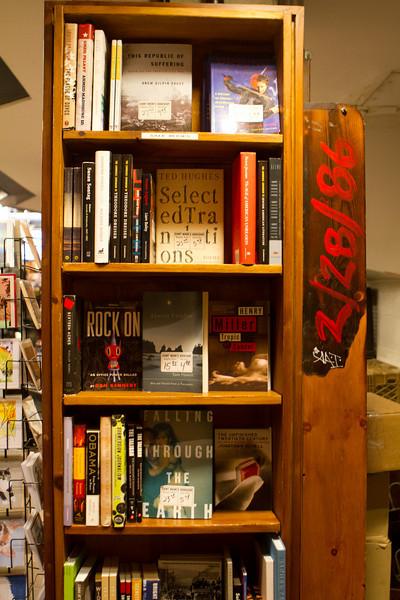 Inside St. Mark's Book Store