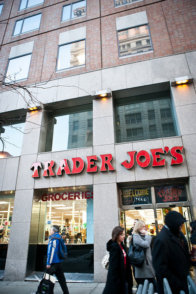Trader Joe's!!! Locals and tourists love Trader Joe's. Perfect spot right next to NYU along 14th street.