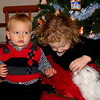 Christmas Pics of Abby & Cameron :