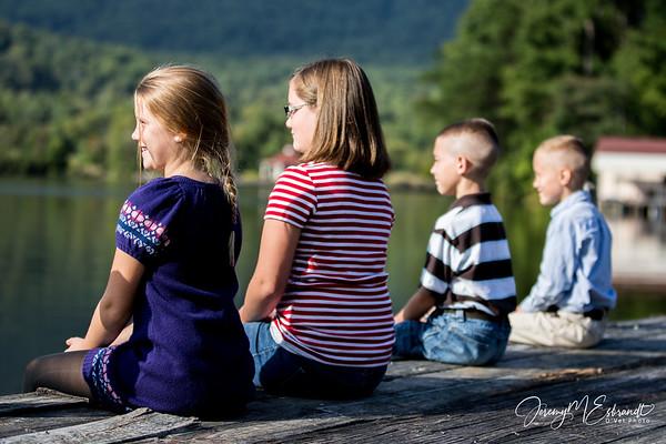 Kids Pics  - Lake Lure - 09-29-2013