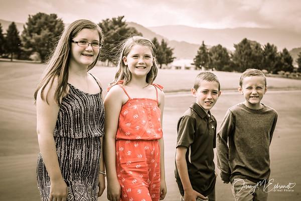 Kids - Summer Pics - Pigeon Forge - 2015