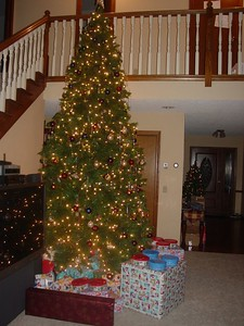 The tree and the gifts