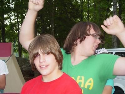 Matt and Zack crash the party!