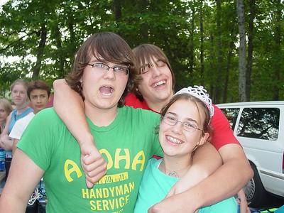 Zack, Matt, and Queen Nickole.
