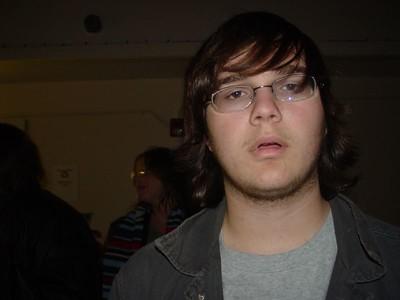 Zack looking clueless.