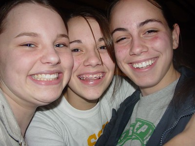 Liz (left), Nickole, and Morgan
