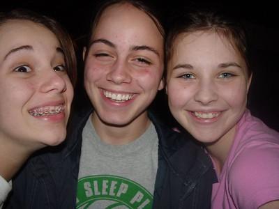 Nickole (left), Morgan, and Sammy H.
