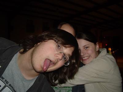 Zack and his tongue.