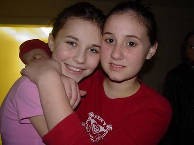 Samantha H. (left) and Samantha D.