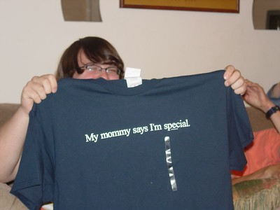 And another t-shirt just to show him how much I care...