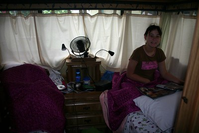 Labor Day camping trip in our RV - 2005