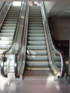 The escalator that Zack and Sammy H. broke!