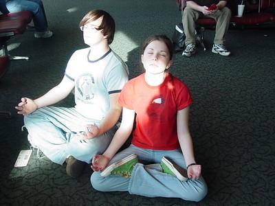 Zack and Sammy finding their Zen