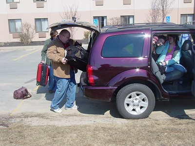 How many people and how much luggage can you fit into one Dodge Durango?