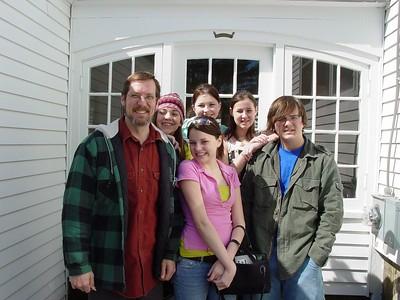 Left to Right Front Row: Scott, Elizabeth, Zack Back Row: Nickole, Samantha H., Samantha D.