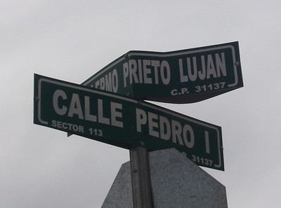 "Translates to ""Pedro Street""   Hilarious."