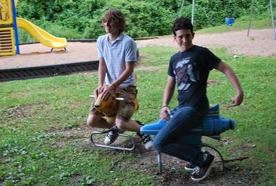 Colton and Isaac