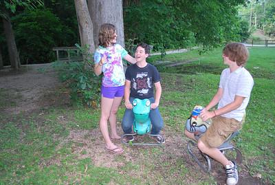 Sam, Isaac and Colton