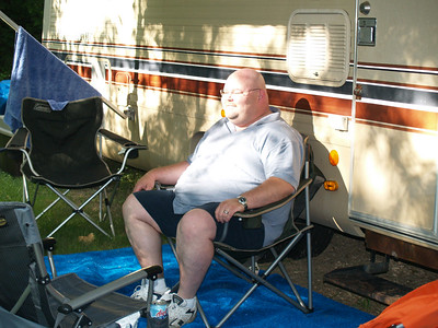 Memorial Day camping trip in our RV - 2006