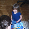 Her favorite characters are the Wonder Pets, a television show on Nick, Jr. This was the day that Papa bought her a Flyboat for her Wonder Pets and she was very excited!