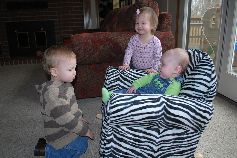 A play date with Jeremiah and Alexis.