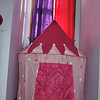 Princess tent for the little alcove in her bedroom.