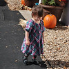 Not happy that she had to return the gourd to the display!