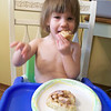 Shiloh, who usually does not want to eat breakfast, thought these were pretty great.