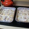 I made these homemade cinnamon rolls for the first time this morning.