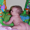 I like to practice crawling when I'm nekkid with no clothes to get in the way...