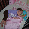As always, babies are MOST precious when they are sleeping or, as I like to think of it, RECHARGING.
